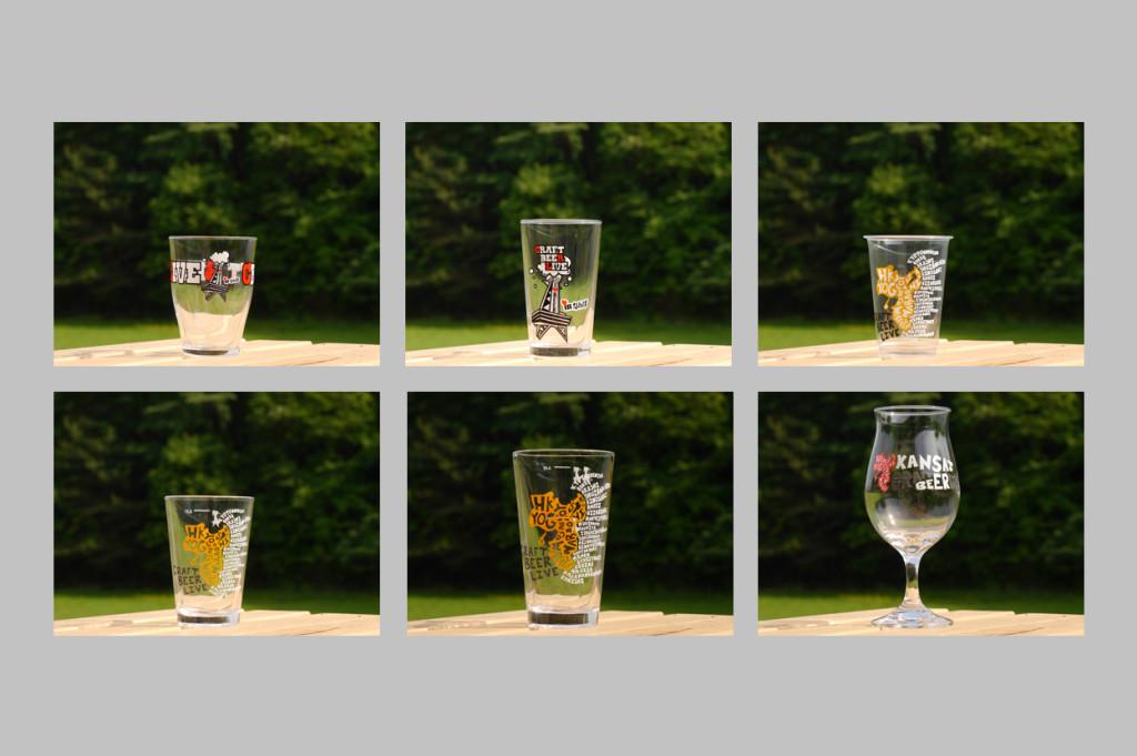 ※過去に購入したオフィシャルCRAFT BEER LIVEのグラスをお持ちな方、このグラスを使用することが可能。 * You may use official cups or glasses from previous years at CRAFT BEER LIVE 2017.